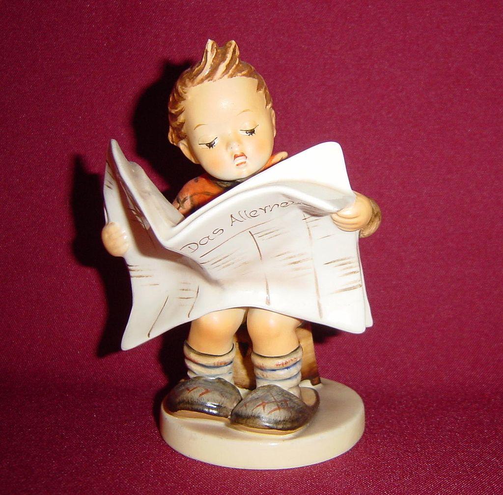 Goebel Hummel Latest News Figurine Model 184