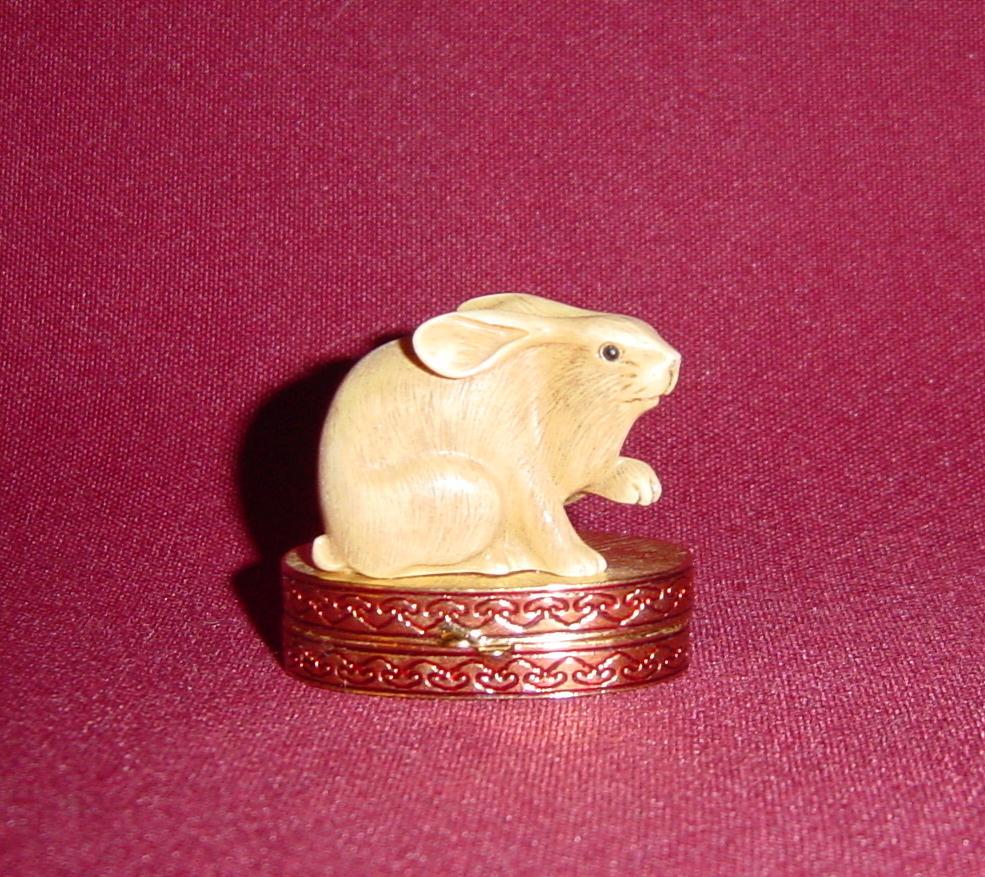 Estee Lauder Lucky Rabbit Solid perfume Compact