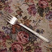 Wm Rogers Silverplate Memory Salad Fork