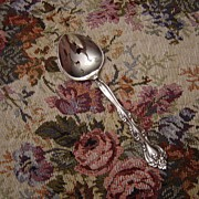 International Silverplate Interlude Pierced Spoon