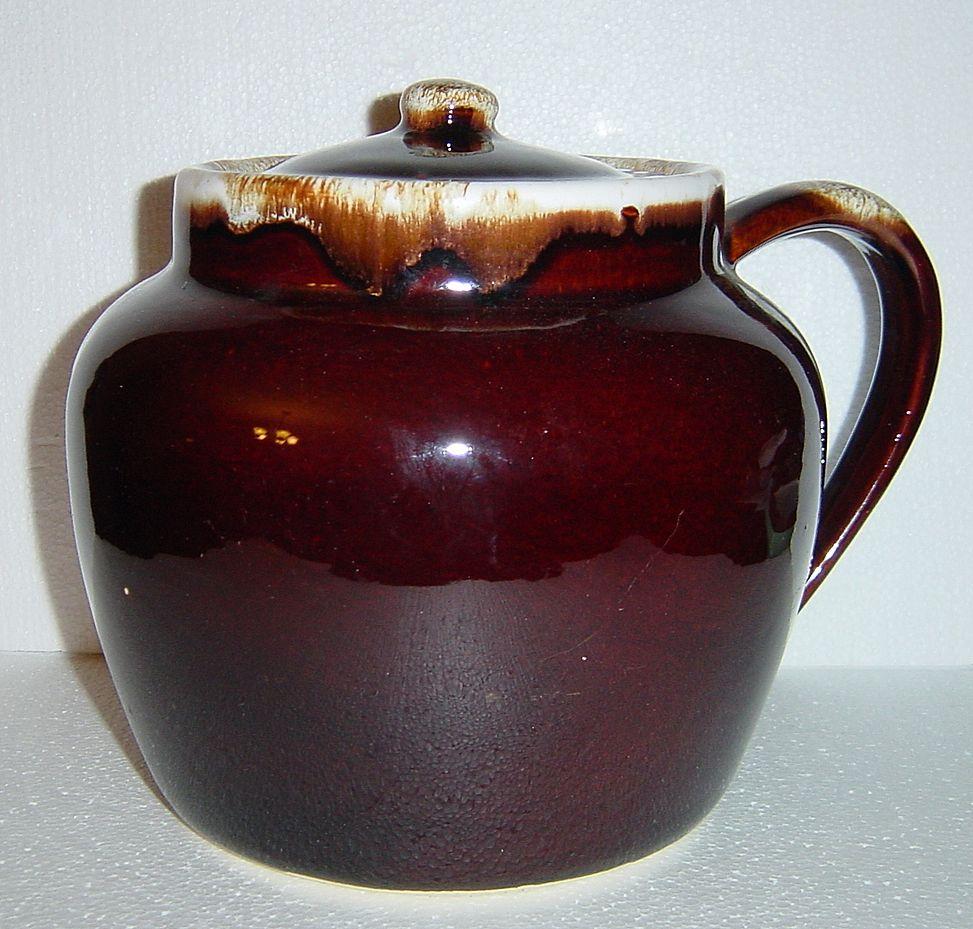 Pfaltzgraff Gourmet Brown Drip 5 Quart Soup Tureen