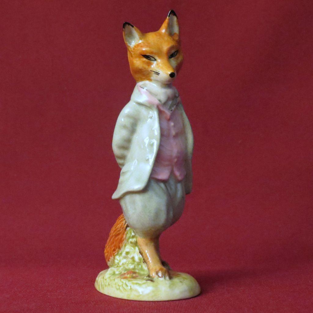 Beswick Beatrix Potter Foxy Whiskered Gentleman BP-3a