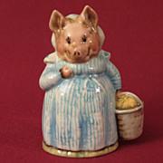 Beswick Beatrix Potter Aunt Pettitoes Figurine