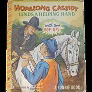Hopalong Cassidy Pop Up Bonnie Book