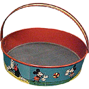 Early Disney Mickey Mouse Sand Sifter
