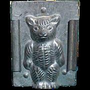 Antique Teddy Bear Chocolate Mold