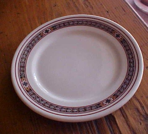 Pennsylvania Railroad China Bread And Butter Plate