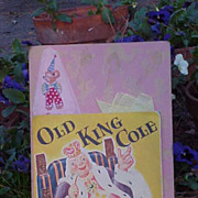 1953 McLoughlin Old King Cole Pop Up Book With Hankies