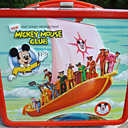 Mickey Mouse Club Aladdin Lunch Box