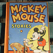 Disney 1934 Mickey Mouse Stories Book 2