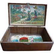 D M Ferry Store Display Seed Box