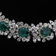 Juliana DeLizza & Elster Faux-Emerald Bracelet
