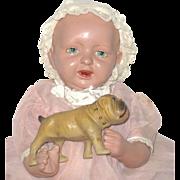 "Fine 12"" Cleveland Ohio Jackson-Parsons Baby Factory Costume"
