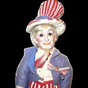 10 Inch 1896 Bisque Head Portrait Doll by Cuno & Otto Dressel