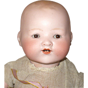 13 Inch AM 351 Character Baby Brown Sleep Eyes Composition Body Factory Shift