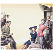 American Art - Joe Little 1944: Beyond Expectation 1, Original Illustration Art