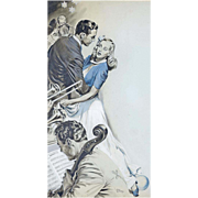 American Art - Joe Little 1944: Beyond Expectation 2, Original Illustration Art