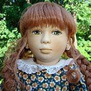 1996 Maggie Iacono Velveteen Rabbit Rebecca Felt Doll Limited Edition 24/60