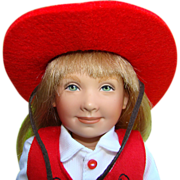 1995 Helen Kish Penny Doll LE 2500 Dance and Play Collection 12.5 Inch
