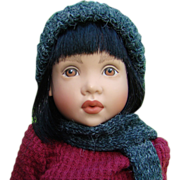 1995 Helen Kish Little Match Girl Doll 707/950 Childhood Favorites Collection 12.5 Inch