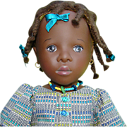 1990 Sylvia Natterer Winnie Doll Signed Limited Edition 15/30 Gotz