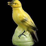 German Porcelain Figural Bird Perfume Bottle