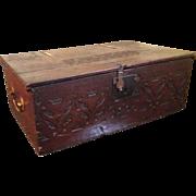18c Bible Box / Brass Handles