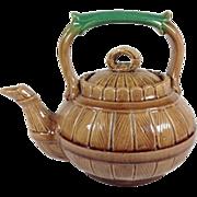 Majolica Tea Pot C.1890