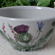 Buchan Pottery Thistle Ware Open Sugar #189/5 Scotland