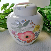 Wedgwood Meadow Sweet Ginger Jar with Lid