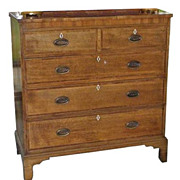 Antique George III English Dresser Chest of Drawers