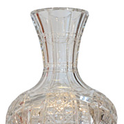 Spectacular Antique American Brilliant Cut Glass Wine Carafe