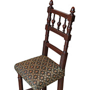Unusual Antique Salesman's Sample or Child's Chair