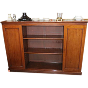 Antique 19th C Continental Fruitwood Bookcase