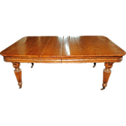 1557 Antique 19th C. Conference Table