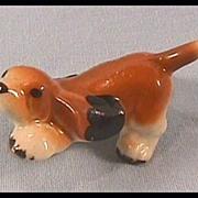 Hagen Renaker Basset Hound Pup