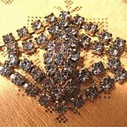 Bright and Beautiful Blue Rhinestone Bracelet