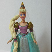 Hallmark Barbie as Rapunzel Ornament