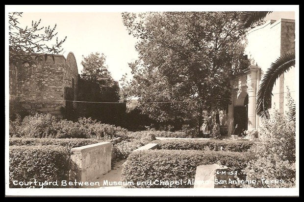 Alamo Real Photo Post Card