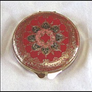 Red Leather Compact