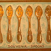 Souvenir Spoons Post Card