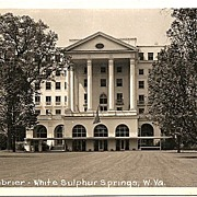 Real Photo Postcard of The Greenbrier in White Sulpher Springs, West Virginia