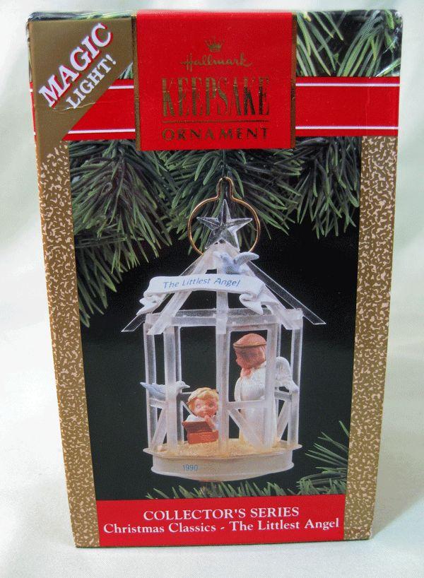 Hallmark Collector's Series Christmas Classics - The Littlest Angel - Lighted Ornament