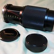 Vivitar Formula 5, f1:4.5, 80-205mm Lens with Case