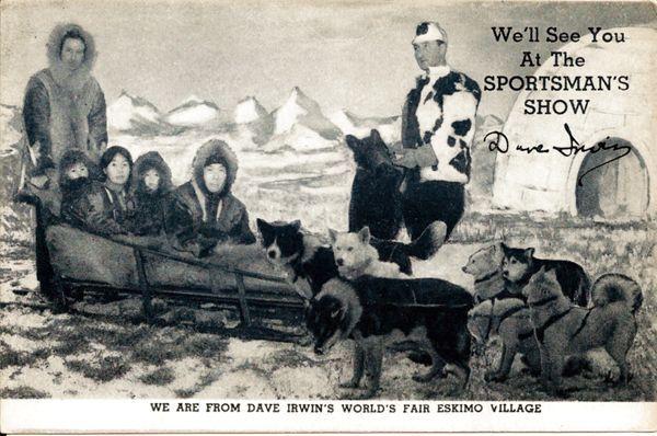 Ken-L-Ration World's Fair Advertising Postcard