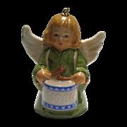 Goebel Angel Bell Ornament Dated 1984