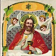 Easter Postcard - Jesus at Last Supper