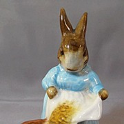 """Beatrix Potter's """"Cecily Parsley"""" Figure  by Beswick"""