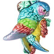 Colorful Parrot Wallpocket from Japan