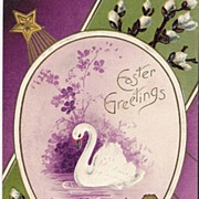 """""""Easter Greetings - Swan"""